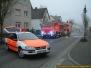 Brand einer Werkstatt in Ransbach-Baumbach