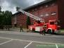 Brandübung in der Kaserne Rennerod
