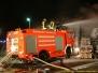 Großbrand einer Lagerhalle
