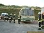 Übung Technische Hilfeleistung mit einem Bus