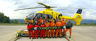 Christoph 23 inklusive Crew