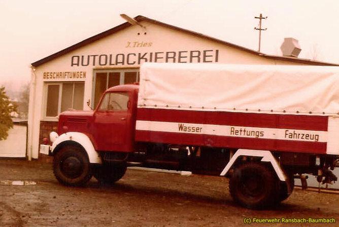 Borgward Wasserrettungsfahrzeug von 1974