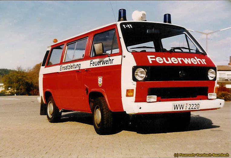 ELW 1 VW Bus von 1982