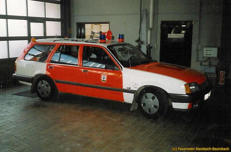 KdoW Opel Rekord von 1985