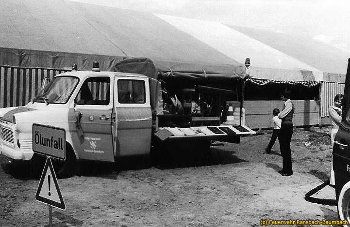 Ölwehrfahrzeug von 1974