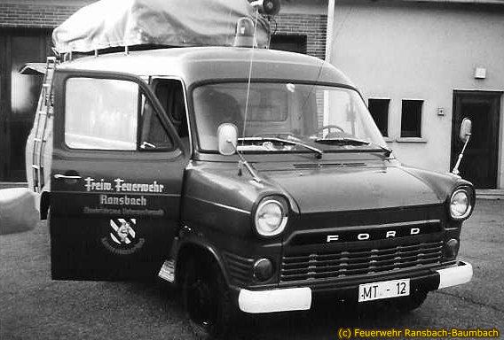 Ölwehrfahrzeug von 1967