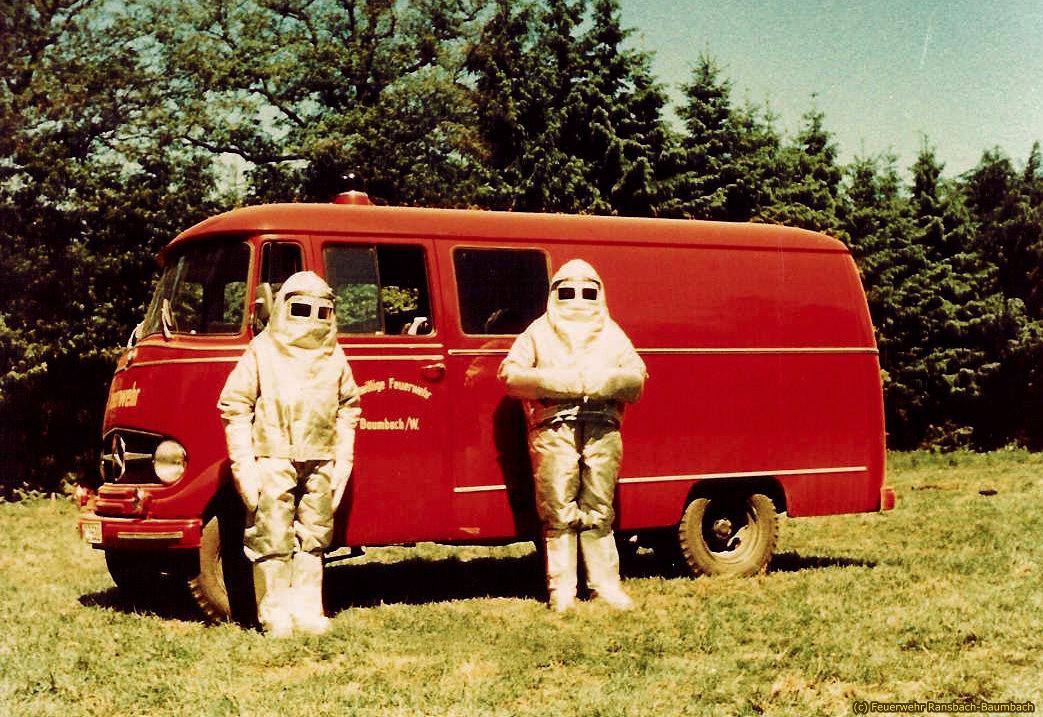 Schaumlösch- und Kommandowagen von 1959