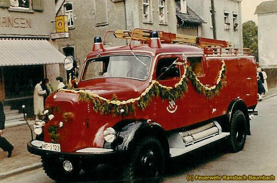 TLF 16 Ransbach von 1958
