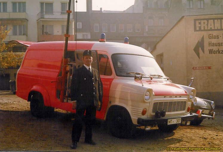 Unfallhilfsfahrzeug von 1971